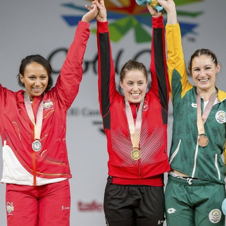 Mona Bronze medal commonwealth games
